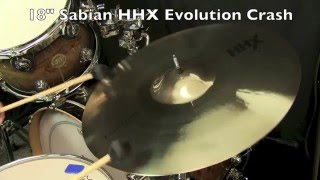 18 sabian hhx evolution crash