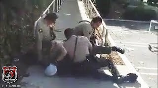 SD Sheriff Brutality | Deputies Assault Man Already Detained on the Ground