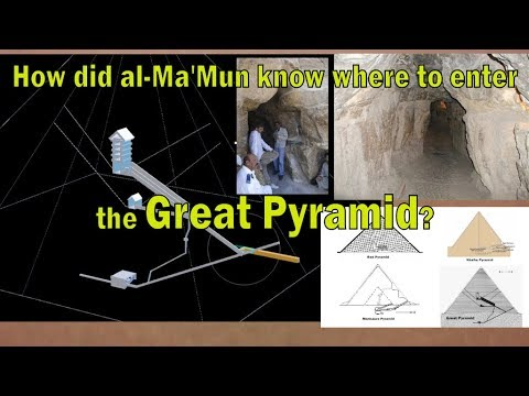 Great Pyramid- Al Ma'Mun's Breach - Robber's Entrance. How Did They Know?