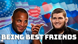 DC & Khabib being best friends..