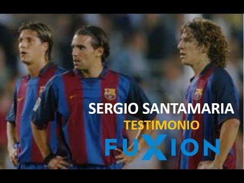 TESTIMONIOS FUXION: Sergio Santamaria Ex Futbolista del Barcelona Productos Pre Post Sport