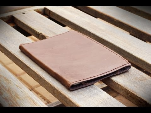 How To Make A Simple Leather IPad Or Tablet Cover