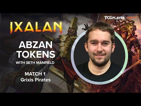 [MTG] Abzan Tokens   Match 1 VS Grixis Pirates