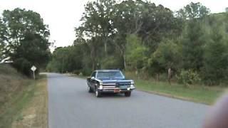 1965 GTO Burnout video 2