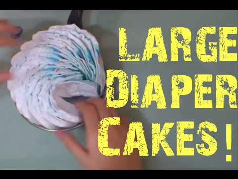 Diaper Cake Big Wheel Instructions Youtube