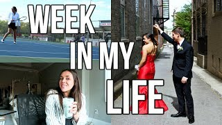 Senior WEEK IN MY LIFE! Prom Vlog 2018, Tennis, Road Trip, + MORE