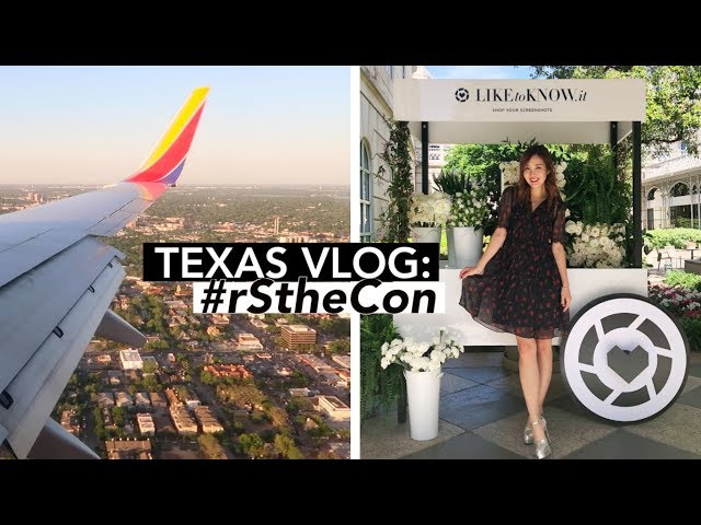 Follow Me to Dallas, Texas! | #rStheCon
