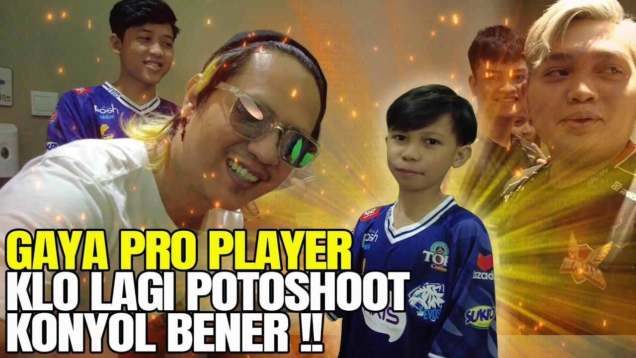 Download GINI NIH GAYANYA PRO PLAYER KLO LAGI SESI PEMOTRETAN!! KONYOL BENER EMANG !!