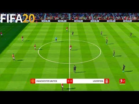 Manchester United vs Liverpool - Bundesliga Gameplay | FIFA 20