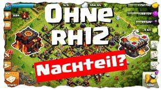 CLANS OHNE RATHAUS 12 - IST DAS EIN NACHTEIL? | Clash of Clans Deutsch | Let´s Play COC