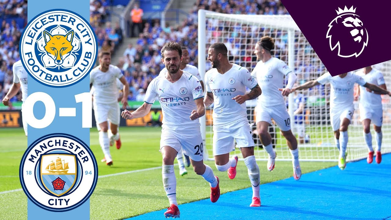 Download Man City Highlights!   Leicester 0-1 Manchester City   Silva Goal!