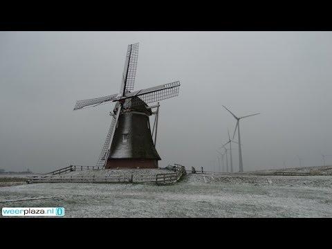 Weerbericht Vrijdagmiddag Zaterdag Regen En Sneeuw Youtube