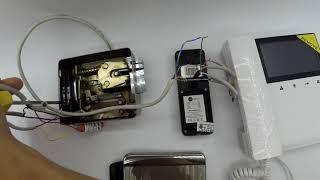 БУЗ (блок управления замком) установка в электромеханическом замке. Видео схемы расключения - Ip24