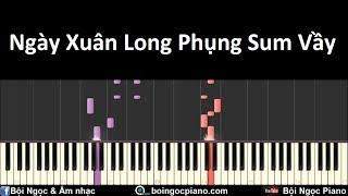 Ngày Xuân Long Phụng Sum Vầy   Piano Tutorial #32   Bội Ngọc Piano