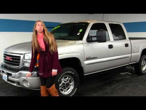 Virtual Walk Around Video of a 2007 GMC Sierra 2500HD SLE at Milam Truck Country in Puyallup, WA uj1