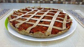 Пирог из цельнозерновой муки с ягодами - рецепт правильного питания