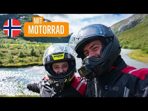 Mit Motorrad und Zelt durch Norwegen - Reisedoku