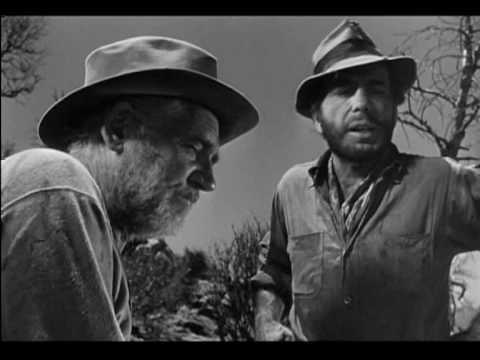 """The Treasure of the Sierra Madre"" was directed by John Huston and features Humphrey Bogart, Walter Huston, Tim Holt, Bruce Bennett and Barton MacLane."