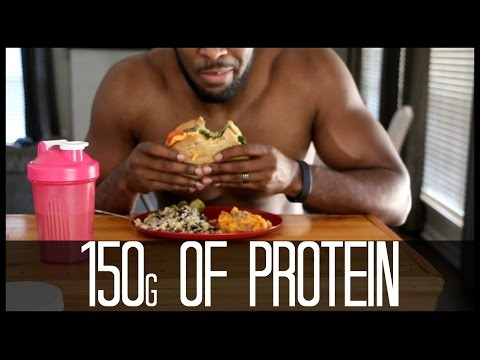 Vegan High Protein Full Day of Eating | 152g of Protein