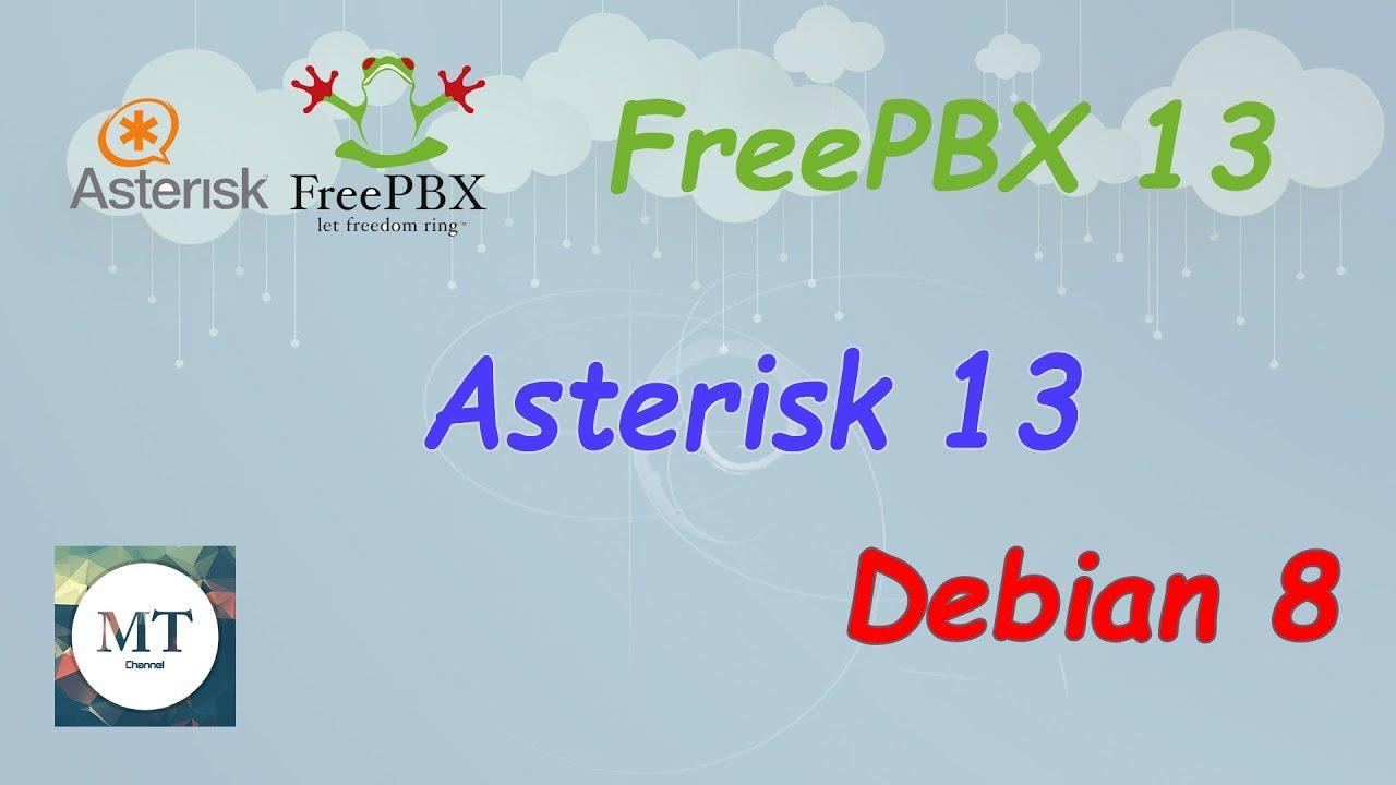 install freepbx 13 on debian 8
