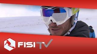 Gli atleti dello snowboard migliorano ad occhi chiusi