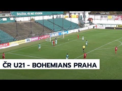 Přípravný zápas reprezentace U21 s Bohemians Praha 1905 - 3:1