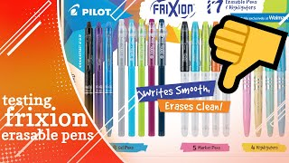 This Pen Will RUIN Your Projects | Pilot Frixion Gel Pen Review
