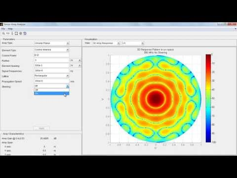 Using Apps for Phased Array System Design and Analysis