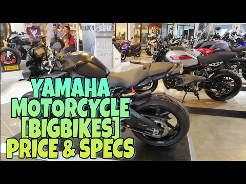 Yamaha Motorcycle [Bigbikes] Price & Specs Motor Hub Davao City.