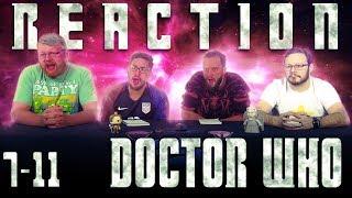 "Doctor Who 7x11 REACTION!! ""The Crimson Horror"""