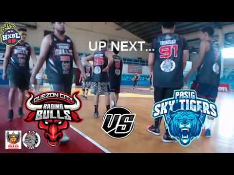 HXBL: Quezon City Raging Bulls  VS Pasig Sky Tigers FULL GAME