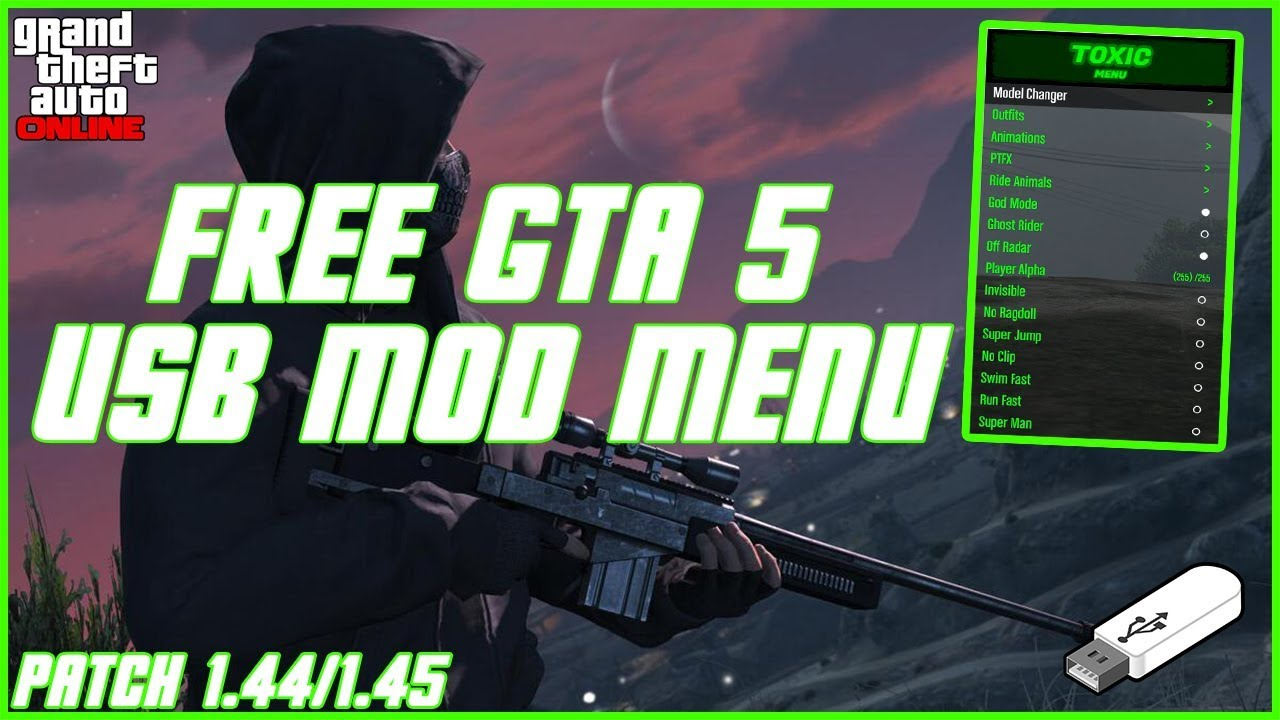 How To Install GTA 5 USB Mod Menus on ALL Consoles! | PS4, PS3, Xbox One &  Xbox 360