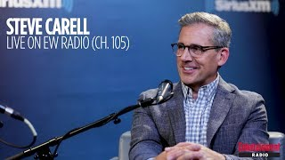 Video Steve Carell reacts to being called a Silver Fox | Entertainment Weekly Radio download MP3, 3GP, MP4, WEBM, AVI, FLV Agustus 2017
