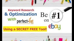 eBay SEO Optimization - FREE eBay Keyword Research Tool - eBay Tips & Tricks and Hacks 2019