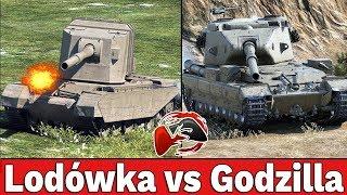 GODZILLA vs LODÓWKA - Bitwa 6vs6 - World of Tanks