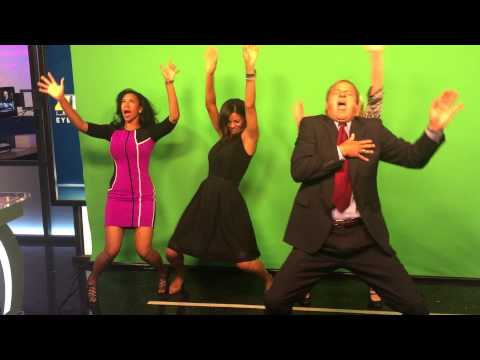 Hit the Quan New Orleans Early Morning News team WWL-TV, Channel 4!
