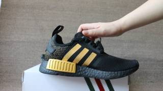 Versace x Adidas NMD R1 Boost - YouTube