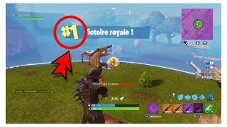 TOP 1 WITH THE NEW SKIN CORBEAU IN BIG EXPLOSIVE [SOLO] - Fortnite battle Royale