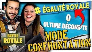 ON A FAIT TOP 1 ÉGALITÉ ROYALE !!! | FORTNITE MODE CONFRONTATION