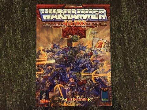 Retrohammer 5: Warhammer 40,000: Rogue Trader Rulebook 1987