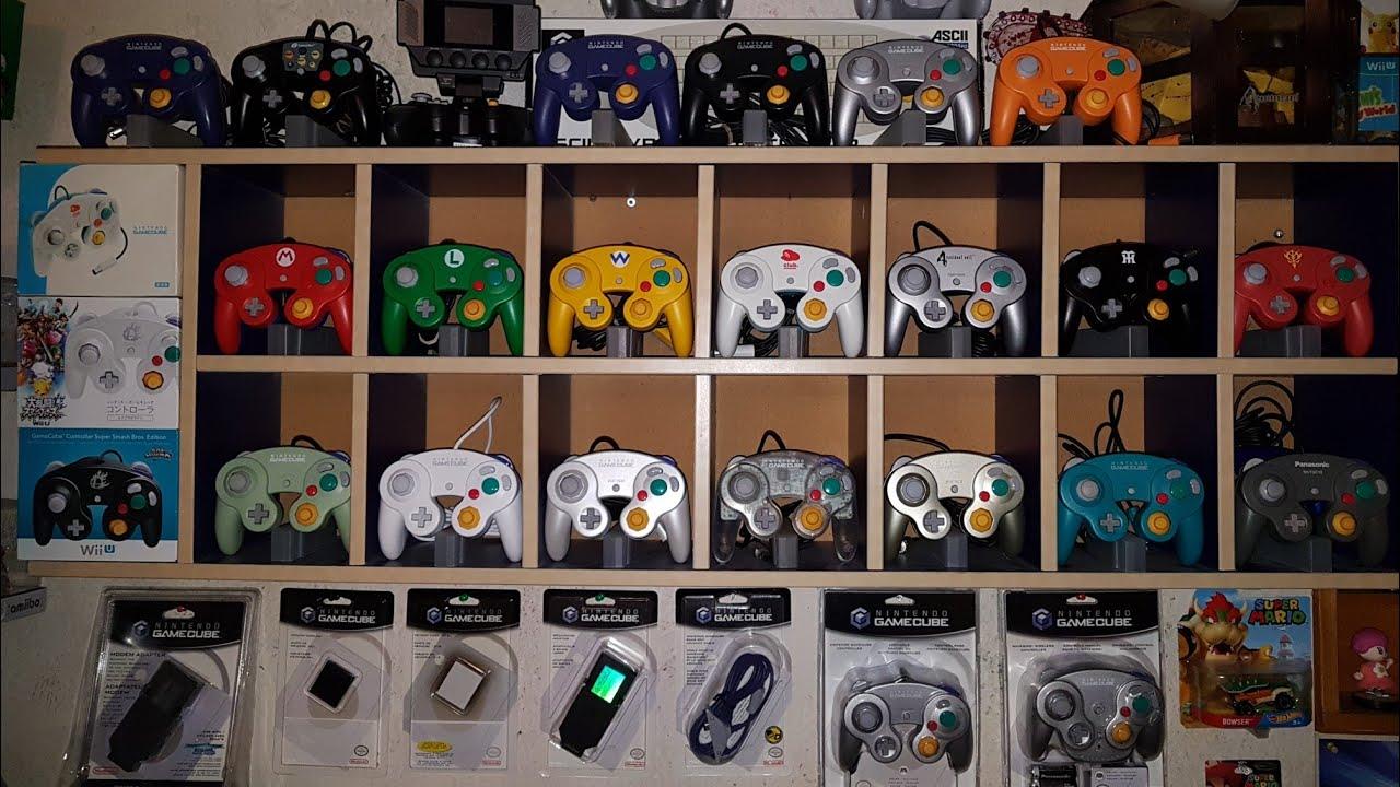 Full Nintendo Gamecube controller set