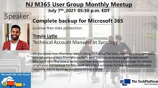 Complete backup for Microsoft365 - Travie Lytle