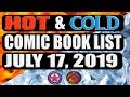Episode 8: What's Hot and Cold In Comic Books This Week - July 17, 2019