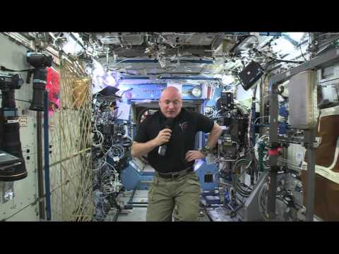 Space Station Commander gives Insight Into Life in Space