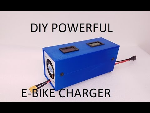 How To Make Ebike Charger Diy Youtube