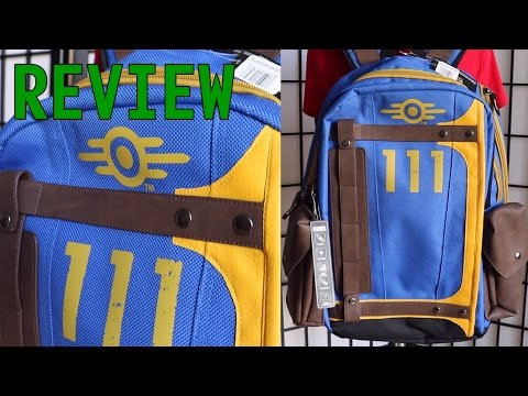 [ REVIEW ] Fallout Vault-Tec Suit Up 111 Armored Backpack