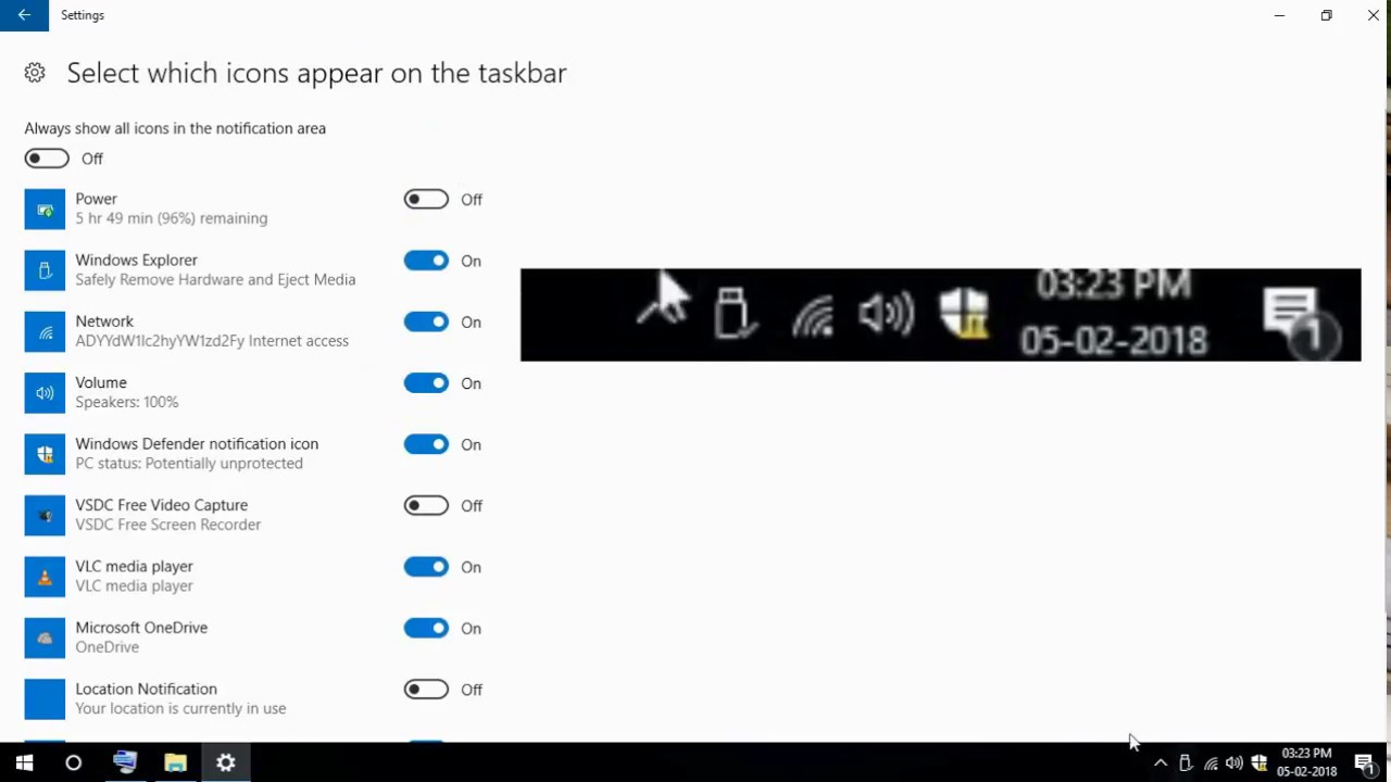 Taskbar icons missing in windows 10 | Ajay karan - YouTube