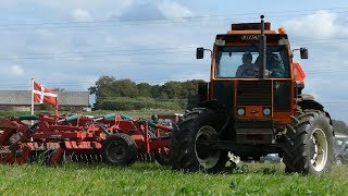 Fiat 1580DT, 615DT, 1500, 90-90, 980, 800, 600S & 513R Ploughing The Field at Fiat Days | DK Agri