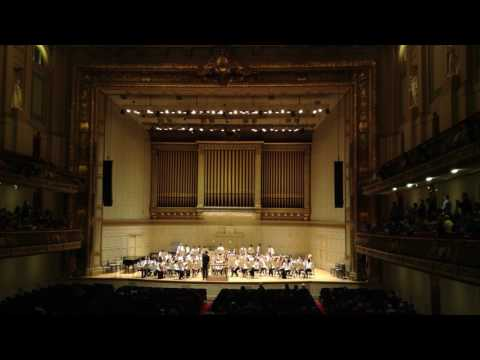 Pollard Middle School Concert Band at Symphony Hall 4 15 2017