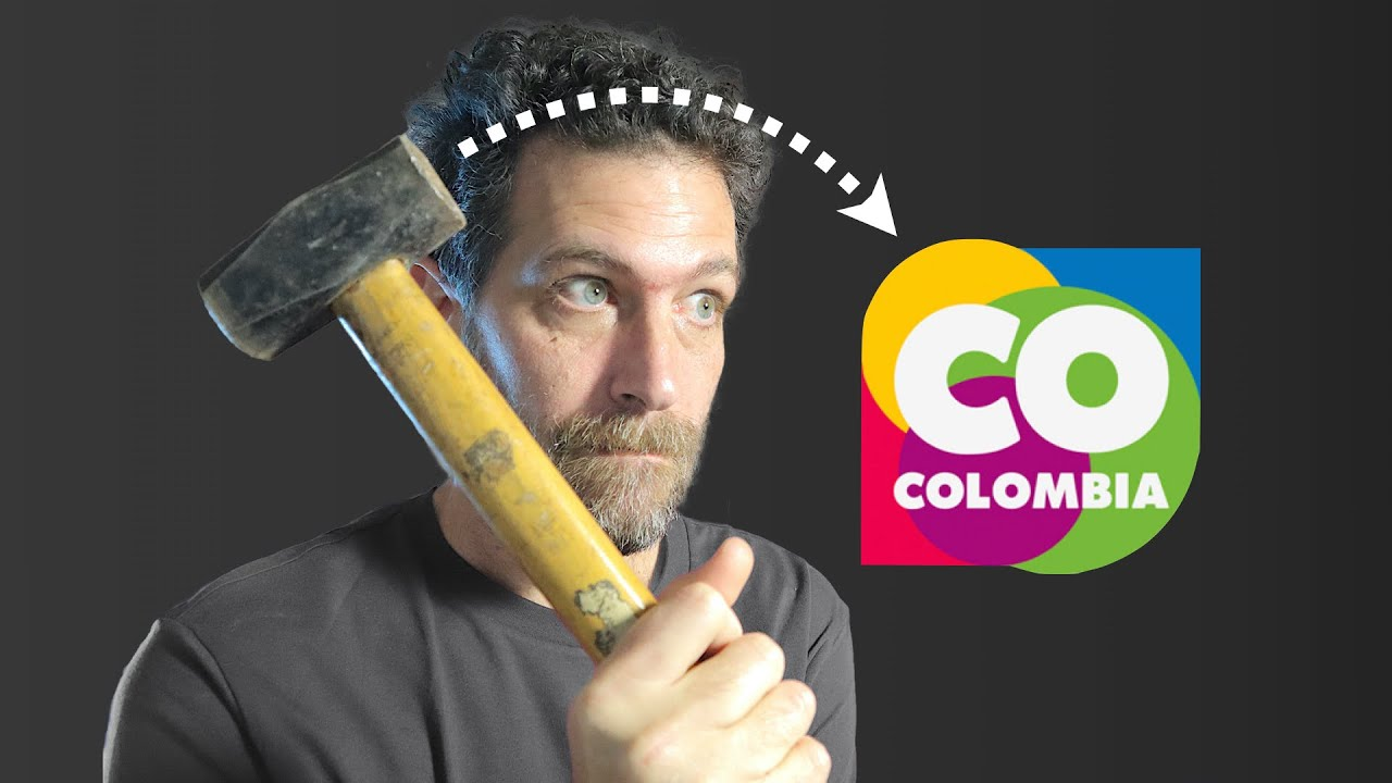 Marca COLOMBIA 🔨 Análisis y crítica al diseño de logotipo